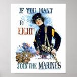 Poster de los infantes de marina