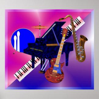 Poster de los instrumentos musicales - JPEG