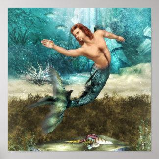 Poster de los Mermen