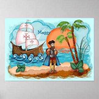 Poster de los niños de Vasco da Gama Póster