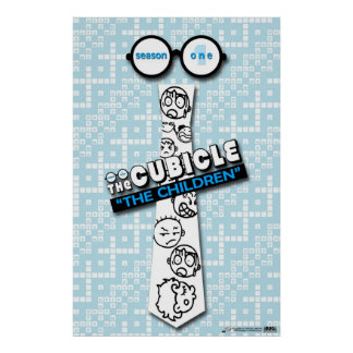 """Poster """"de los niños"""" del """"theCUBICLE """""""