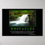 Poster de los obstáculos