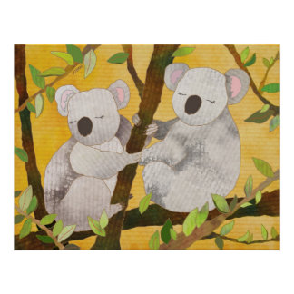 Poster de los osos de koala