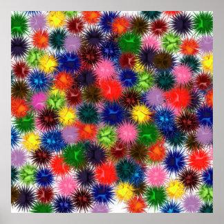Poster de los Paintballs del fractal