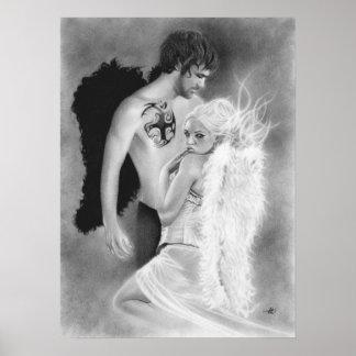Poster de los pares del ángel