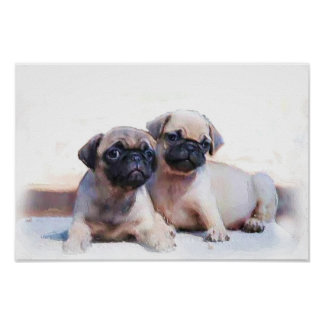 Poster de los perritos del barro amasado