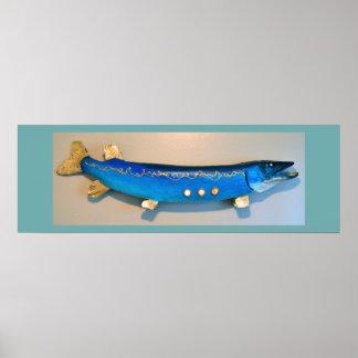 Poster de los pescados de Jonahs