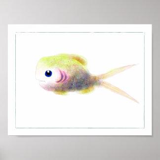Poster de los pescados de la fantasía: Gilly