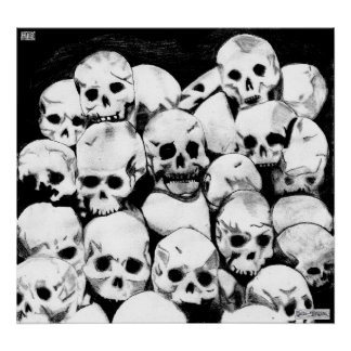 Poster de los Pila-O-Cráneos