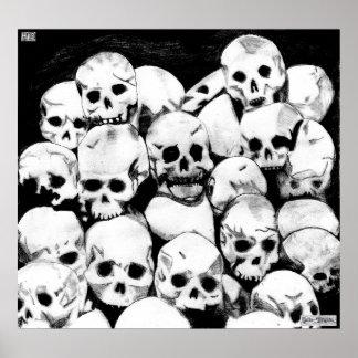 Poster de los Pila-O-Cráneos Póster