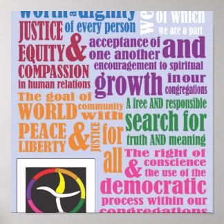 Poster de los principios