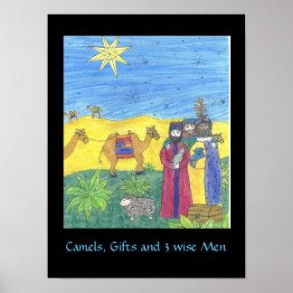Poster de los REGALOS de los CAMELLOS Y de TRES HO