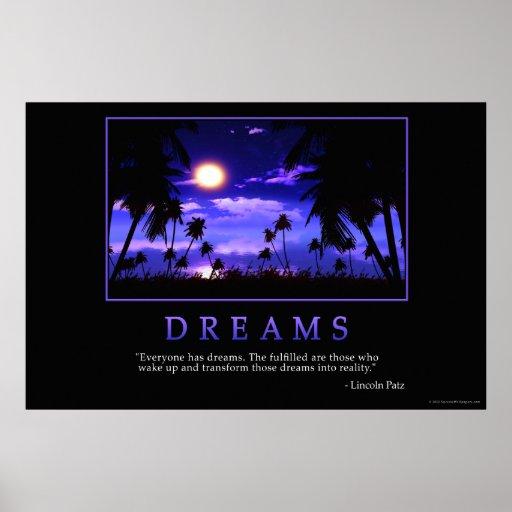 Poster de los sueños