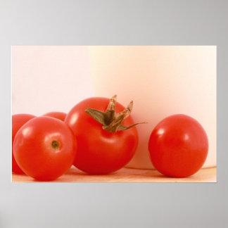 Poster de los tomates