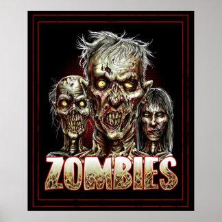Poster de los zombis