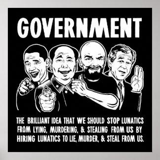 Poster de Lunatics del gobierno