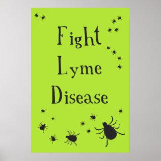 Poster de Lyme de la lucha