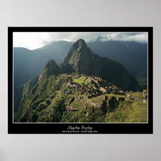 Poster de Machu Picchu - nuevas 7 maravillas del m