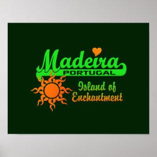 Poster de MADEIRA - personalizar