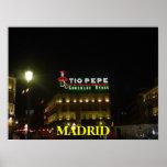 Poster de Madrid-España Póster