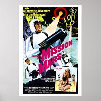 Poster de Marte de la misión