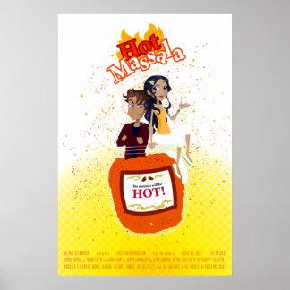 "Poster de ""Massala caliente"" del imitador de Bolly"