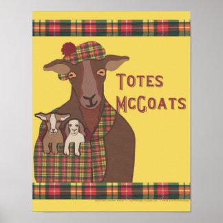 Poster de McGoats de los totes
