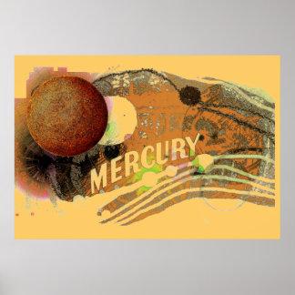 Poster de Mercury del planeta