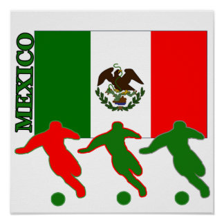 Poster de México del fútbol