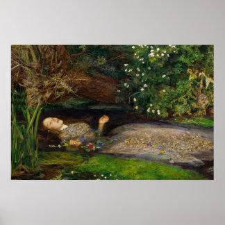 Poster de Millais Ofelia CC0008