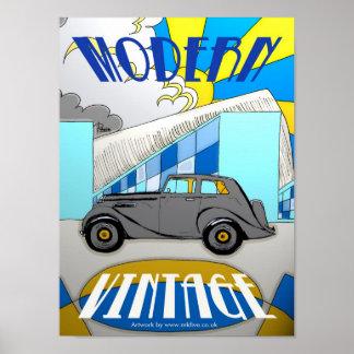 Poster de Moderno-Vintage-Milton
