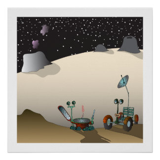 Poster de Mooncars Póster