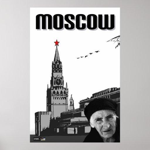 Poster de Moscú
