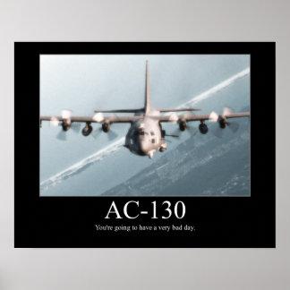 Poster de motivación AC-130
