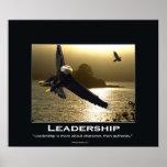 Poster de motivación calvo de Eagle