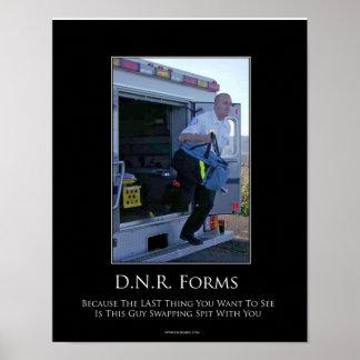 Poster de motivación de DNR