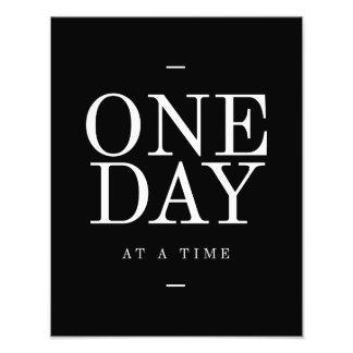 Poster de motivación de la cita del estudio día cojinete