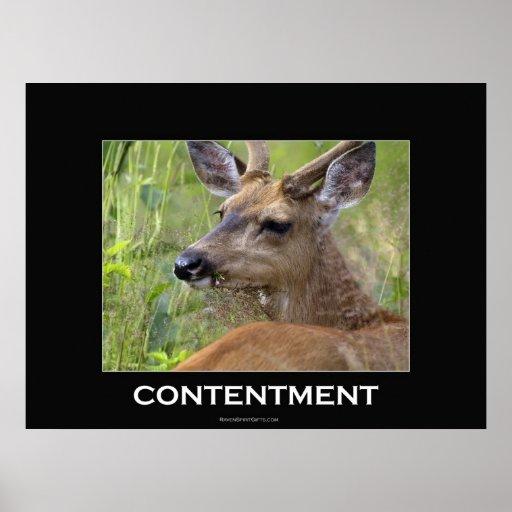 Poster de motivación de los ciervos