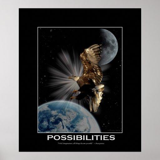 Poster de motivación del arte de la fantasía de Ea