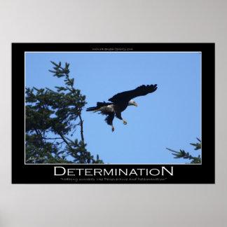 Poster de motivación del ~ de la DETERMINACIÓN