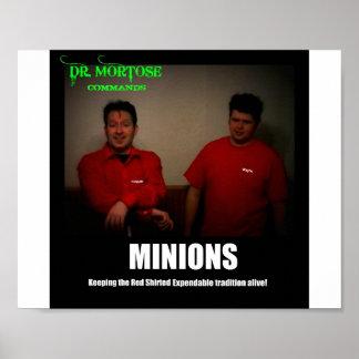 Poster de motivación del Dr. Mortose Commands Mini