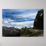 Poster de motivación del éxito…