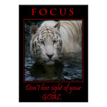 Poster de motivación del foco