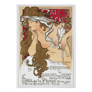 Poster de Mucha Centavo del DES del salón