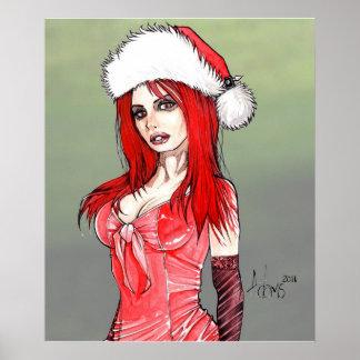 Poster de Navidad de Bianca