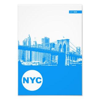 Poster de New York City Foto