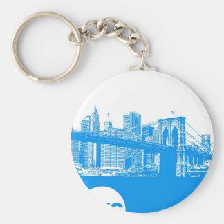 Poster de New York City Llaveros Personalizados