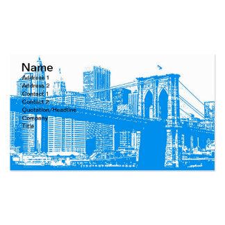 Poster de New York City Tarjetas De Visita