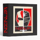 "Poster de Ninja Carpeta 1 1/2"""