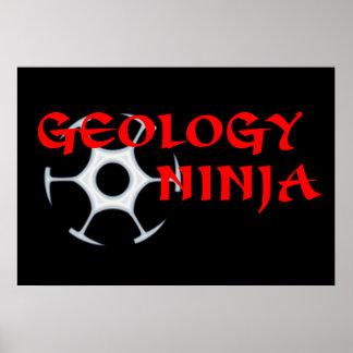 Poster de Ninja de la geología